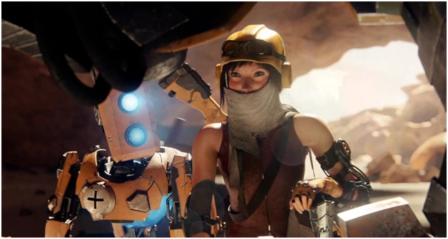 play as joule in recore