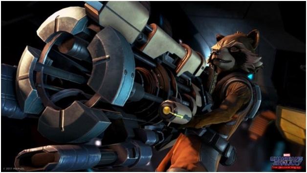 Rocket Racoon Telltale Games