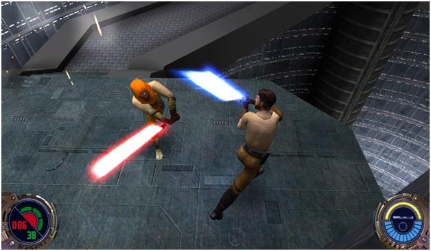 Star Wars Jedi Knight II - Saber Realistic Combat