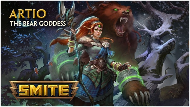 Artio - The Bear Goddess