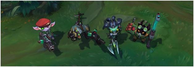 New Omega Squad Skins