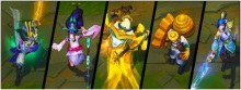 New Champion Skins for Yi, Fiora, Janna, Yorick, and Singed