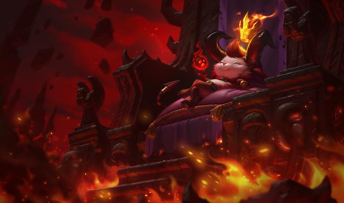 Little Devil Teemo Skin of League of Legends