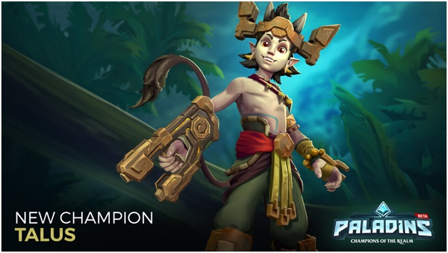 Paladins New Champion Talus
