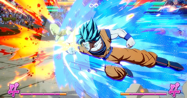 Dragon Ball FighterZ gameplay