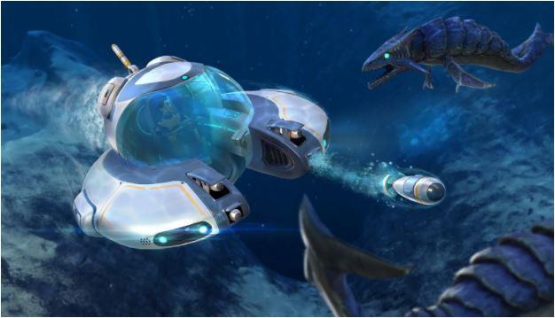 Subnautica Submarine