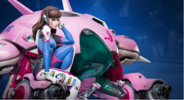 D.Va, the speedy character.