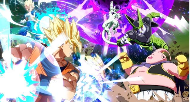 Dragon Ball Fighter Z characters