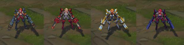Gun Goddess Exo-Suits