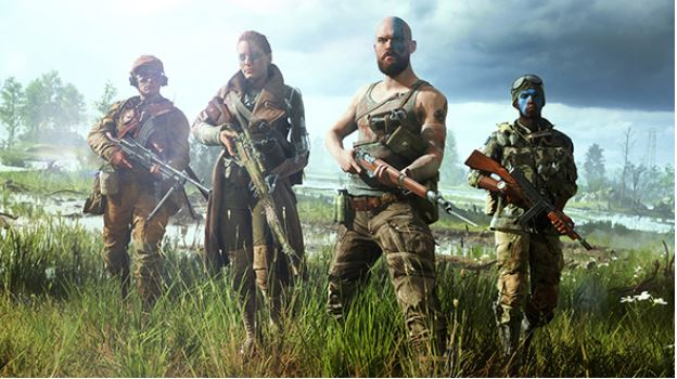 Battlefield V's Debut Trailer that will be seen in gaming laptops.