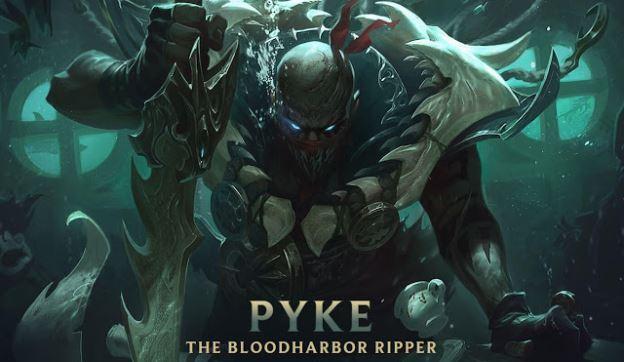 League of Legends new champion Pyke