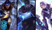 New Pulsefire Skins - Riven, Twisted Fate and Shen