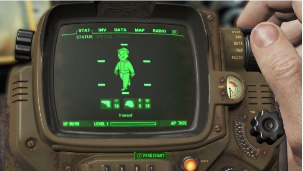 FIve Fallout Games as Played in A Gaming Laptops