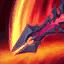 Aatrox Darkin Blade Skill Captured From a Gaming Laptop.