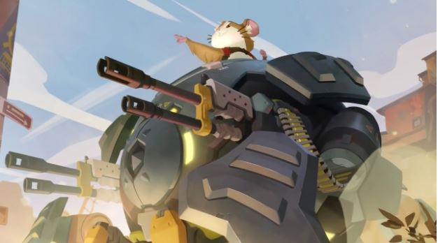 Overwatch Wrecking Ball Hammond In A Gaming PC