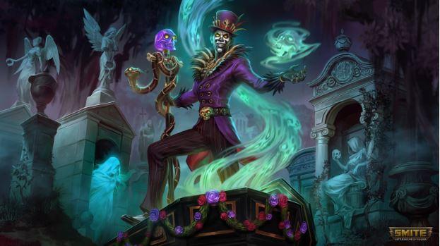 Baron Samedi, Voodoo God Screenshoot From A Gaming PC