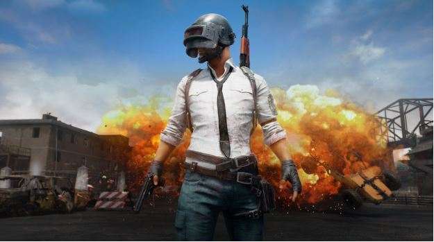 Playing PUBG in gaming pc to learn about the new reward system