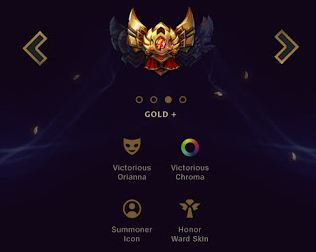 Reward for Gold +