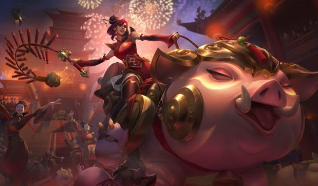 League of Legends Lunar New Year Skins | CYBERPOWERPC