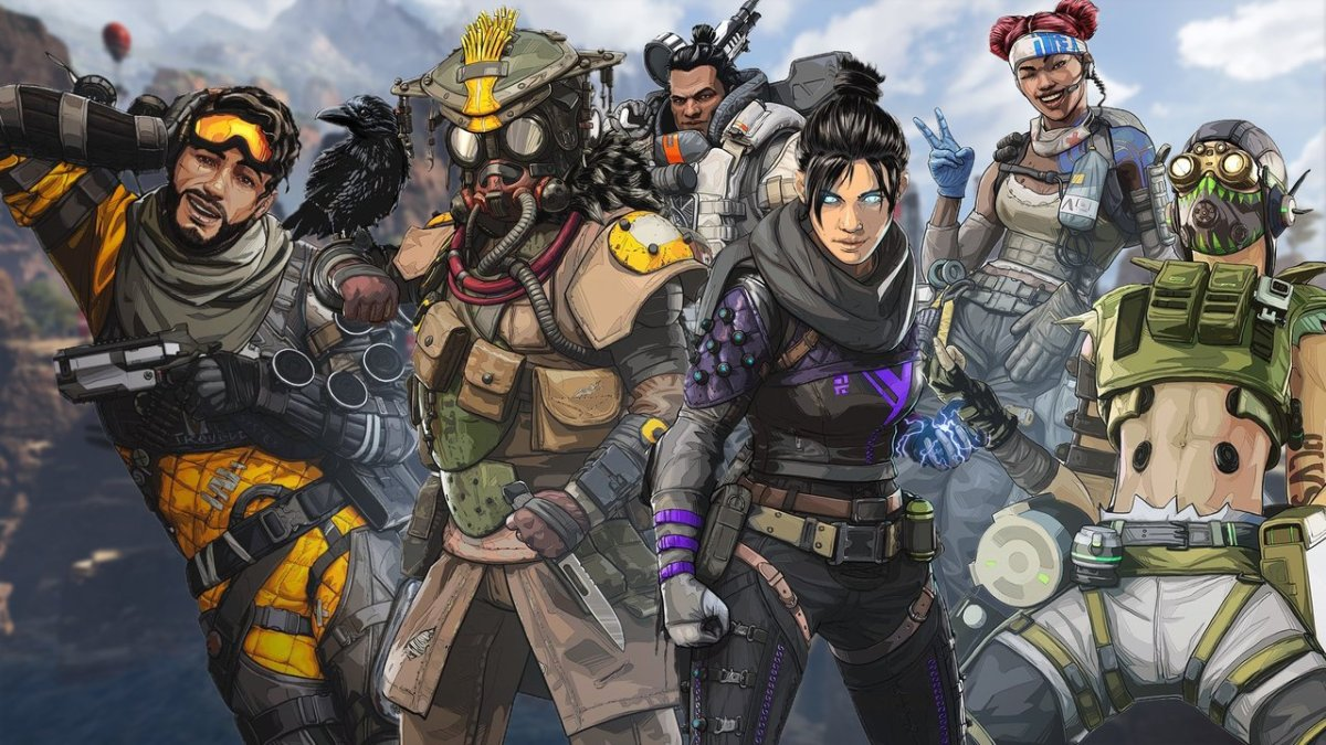 Play the new apex legends character in your gaming pc.