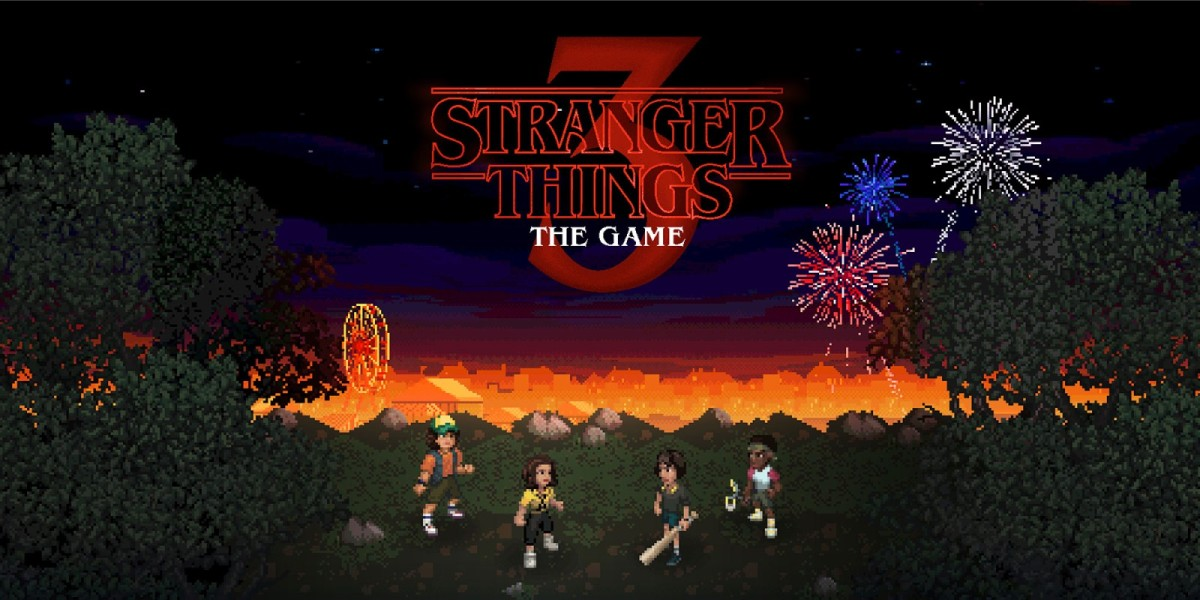 Game play of the stranger things game as played in gaming pc.