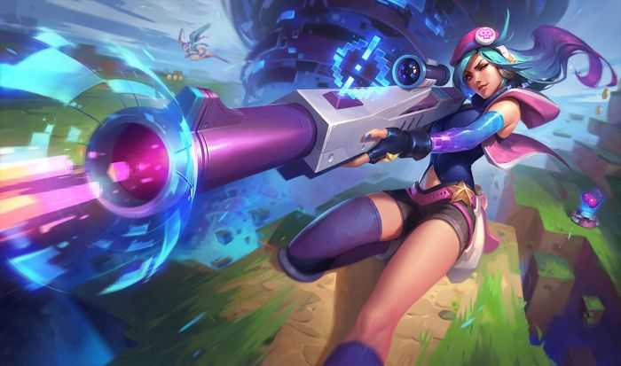 Try the new Arcade Skins 2019 of league of legend in your gaming pc.