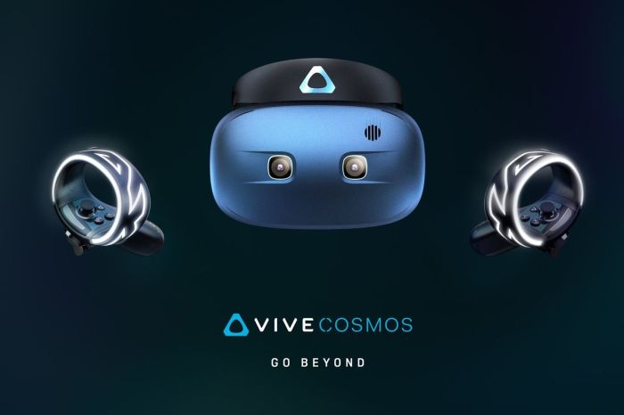 Try the new cosmos vr headset for your gaming pc playing.