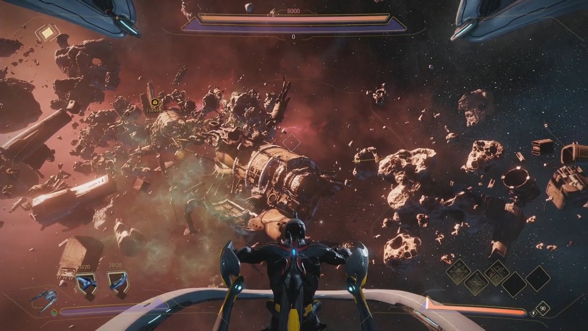 Play the warframe empyrean in your gaming pc