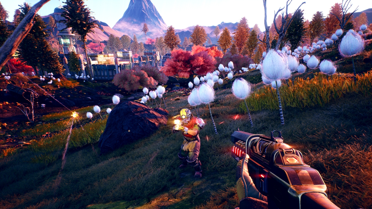 Watch the trailer release of Outer Worlds